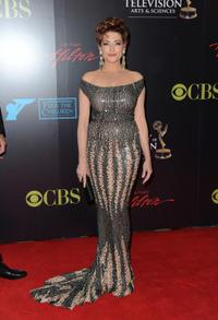 Carolyn Hennesy at the 37th Annual Daytime Entertainment Emmy Awards.