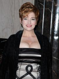Carolyn Hennesy at the opening night of
