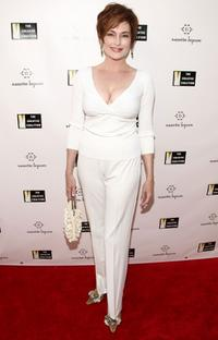 Carolyn Hennesy at the Nanette Lepore and Creative Coalition's Fashion Votes event.
