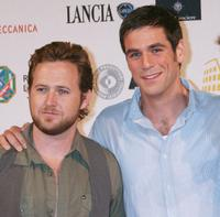 A.J. Buckley and Eddie Cahill at the Roma Fiction Fest 2008 Closing Ceremony and Diamond Awards.