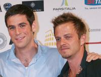 Eddie Cahill and Carmine Giovinazzo at the Roma Fiction Fest 2008 Closing Ceremony and Diamond Awards.