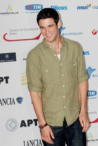 Eddie Cahill at the Roma Fiction Fest 2008.