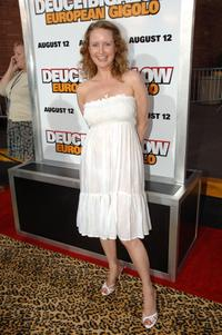 Zoe Telford at the premiere of