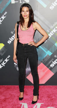 Nadine Velazquez at the T-Mobile Sidekick 4G Launch Event in California.