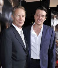 Geoff Pierson and Jason Butler Harner at the premiere of