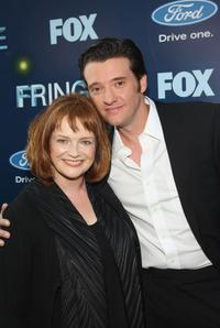 Blair Brown and Jason Butler Harner at the premiere of