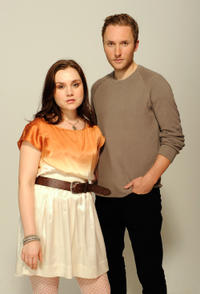 Rachel Miner and Joshua Close at the portrait studio of Tribeca Film Festival 2012.