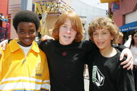 Dallas McKinney, Harrison Doyle and Chase Klitzner at the premiere of