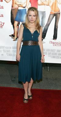 Allison Munn at the premiere of