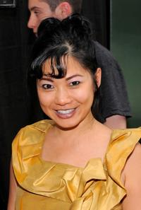 Di Quon at the premiere of