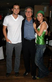 Jeff Hephner, Director Barry Levinson and Anna Friel at the screening of