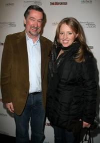 Geoffrey Gilmore and Amy Redford at the Hollywood Reporter party during the 2008 Sundance Film Festival.