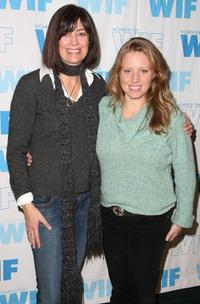 Jane Fleming and Amy Redford at the Women in Film panel during the 2008 Sundance Film Festival.