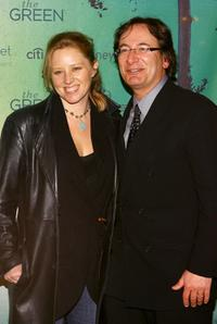 Amy Redford and Larry Aidem at the Sundance channel's Green Launch Party.