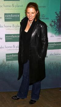 Amy Redford at the Sundance channel's Green Launch Party.