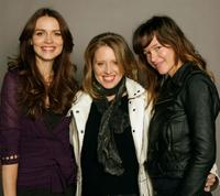 Saffron Burrows, Amy Redford and Paz de la Huerta at the 2008 Sundance Film Festival.