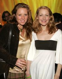 Amy Redford and Patricia Clarkson at the opening night party for Sundance Institute at BAM with a special screening of