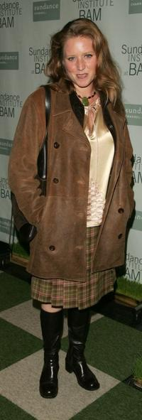 Amy Redford at the opening night party for Sundance Institute at BAM with a special screening of