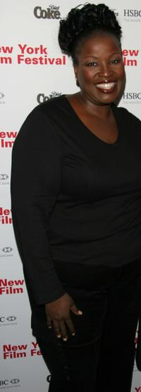 Sharon Wilkins at the screening of