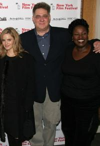 Jennifer Jason Leigh, Richard Masur and Sharon Wilkins at the screening of
