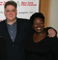 Richard Masur and Sharon Wilkins at the screening of
