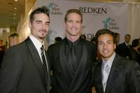 Kevin Richardson, Matt Battaglia and Howie Dorough at the 6th Annual Mint Jubilee.
