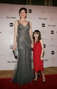 Geena Davis and Jasmine Jessica Anthony at the inaugural ball and premiere of