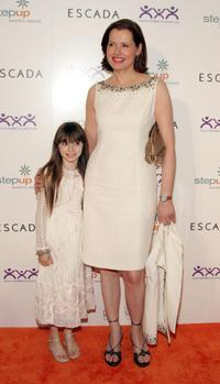 Geena Davis and Jasmine Jessica Anthony at the Step Up Women's Network 3rd Annual Inspiration Awards.