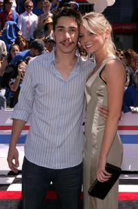 Justin Long and Kaitlin Doubleday at the premiere of