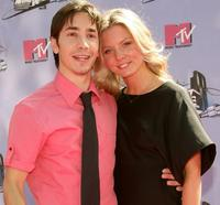 Justin Long and Kaitlin Doubleday at the 2007 MTV Movie Awards.