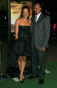 Benita Krista Nall and Arlen Escarpeta at the premiere of