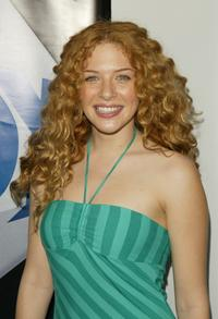 Rachelle Lefevre at the after party for the Fox primetime program announcements for 2004-2005.