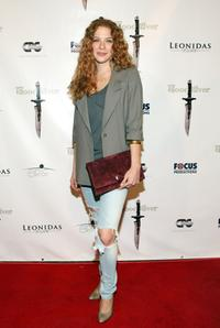 Rachelle Lefevre at the premiere of