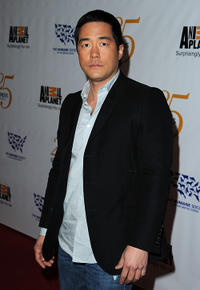 Tim Kang at the 25th Anniversary Genesis Awards in California.