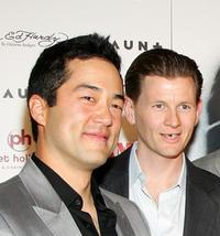 Tim Kang and Jake La Botz at the world premiere of