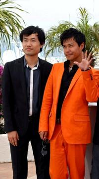 Wu Wei and Chen Sicheng at the photocall of