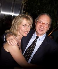Elaine Joyce and Neil Simon at the Broadway Benefit Evening.