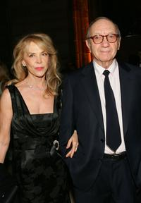 Elaine Joyce and Neil Simon at the American Theatre Wing Annual Spring Gala.
