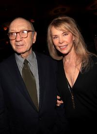 Neil Simon and Elaine Joyce at the after party of the opening night of