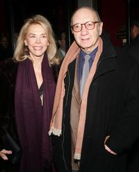 Elaine Joyce and Neil Simon at the world premiere of