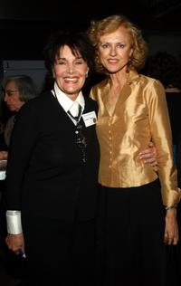 Linda Dano and Jill Larson at the American National Theater Founders Celebration.