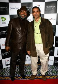 Sayed Badreya and Hesham Issawi at the premiere of