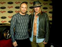 Randy Couture and Musician Kid Rock at the Spike TV Presents Auto Rox: The Automotive Award Show.