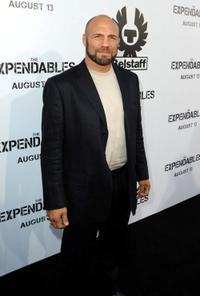 Randy Couture at the California premiere of