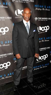 Doug Spearman at the premiere of