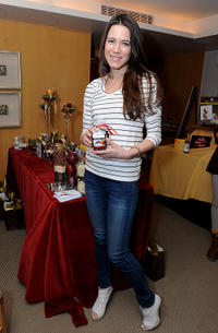 Nathalie Fay at the 2011 DPA Golden Globes Gift Suite.