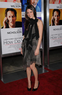 Nathalie Fay at the premiere of