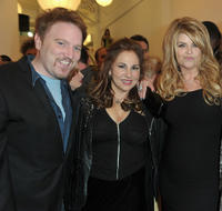 Dan Finnerty, Kathy Najimy and Kirstie Alley at the Opening Night of