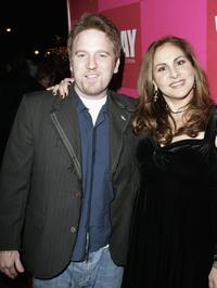 Dan Finnerty and Kathy Najimy at the opening night of