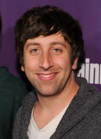 Simon Helberg at the EW and SyFy party during the Comic-Con 2010.